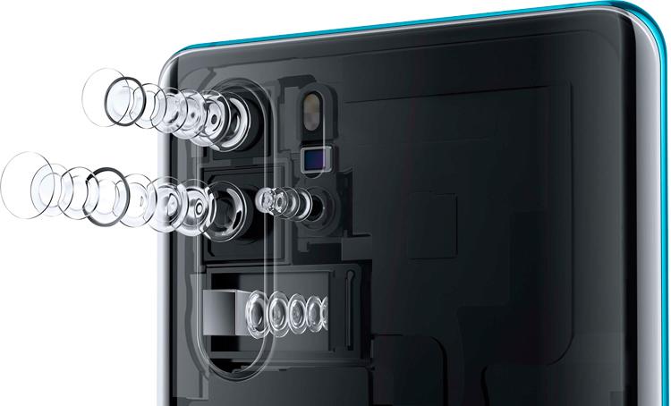 Huawei P30 Pro установил новый рекорд качества тыльных камер