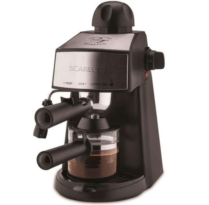 Паровая рожковая кофеварка