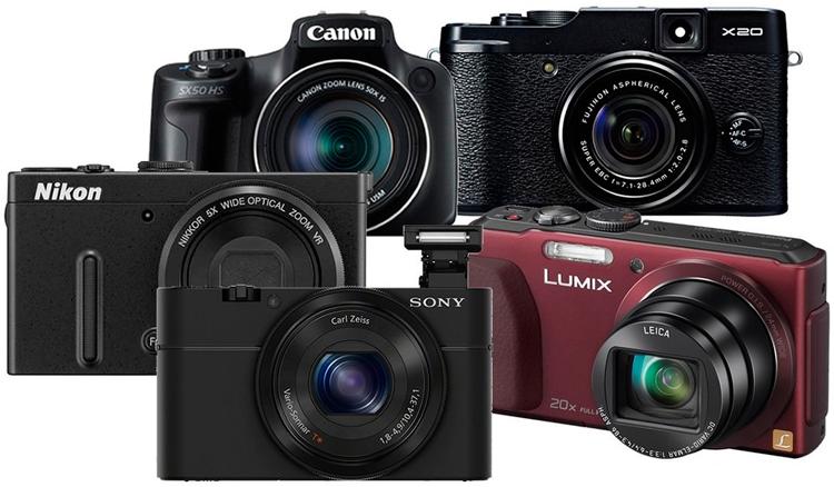 Цифровые компактные фотокамеры