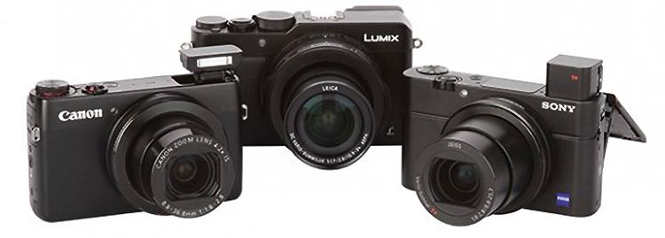 Премиальные компактные фотокамеры