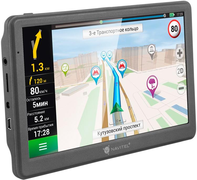 GPS-навигатор автомобильный купить в интернет-магазине в Москве с доставкой